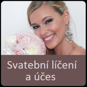 Svatební líčení a účes Ostrava, krásná nevěsta, jak být krásná na svatbě, líčení Ostrava a okolí